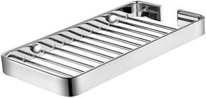 8222 Полка для ванной 20см Aquanet, хром (199905)