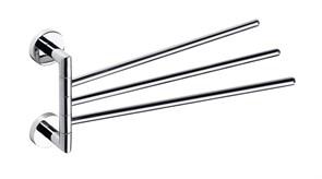 104204112 Тройной полотенцедержатель поворотный  400мм