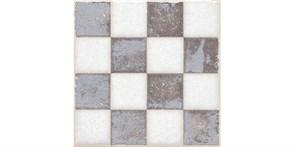 STG/A404/1266H Вставка Амальфи орнамент коричневый 9,8x9,8x7