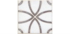 STG/A405/1266H Вставка Амальфи орнамент коричневый 9,8x9,8x7