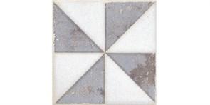 STG/A407/1266H Вставка Амальфи орнамент коричневый 9,8x9,8x7