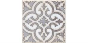 STG/A408/1266H Вставка Амальфи орнамент коричневый 9,8x9,8x7
