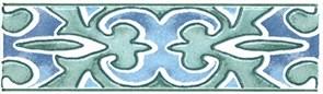 A2264/1146 Бордюр Византия 9,9 *3