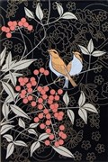 A1729/8141 Цветы и птицы 20х30