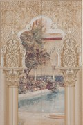 Mural Alhambra Multi B 50x75