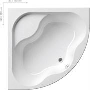 Ванна GENTIANA 140x140 белая