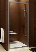 Дверь душевая Ravak BLDP2 - 120  блестящий+ Грапе