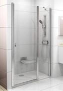 Дверь душевая Ravak CSD2-110 сатин+стекло Transparent