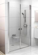 Дверь душевая Ravak CSDL2-120  блестящий+стекло Transparent