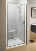 Дверь душевая Ravak PDOP1-90 белая/белая + Траспарент
