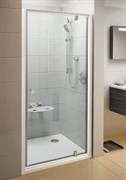 Дверь душевая Ravak PDOP1-90 белый + Траспарент