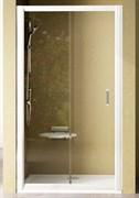 Дверь душевая Ravak NRDP2-120 L белая + Грейп