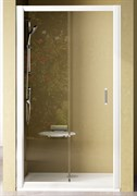 Дверь душевая Ravak NRDP2-120 R белая + Грейп