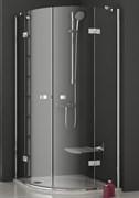 уголки полукруглые SMSKK4-80 хром + Транспарент