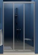 Дверь душевая Ravak ASDP3-110 белая+Грапе