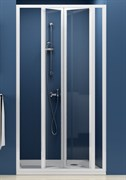 Дверь душевая Ravak SDZ3-100 белая+Грапе
