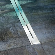 душевые каналы OZ RAVAK Runway 300 - stainless