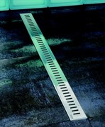 душевые каналы OZ RAVAK Zebra 950 - stainless