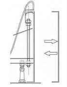 Кpепление панели SABINA-90