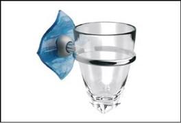 Держатель для зубных щеток и стакан Glass с