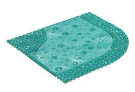 Коврик для душа Drops 60x60 см. Зеленый