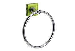 Кольцо для полотенец Kubik зеленый