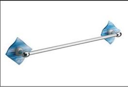 Перекладина для полотенец Glass синяя
