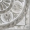 GR55/SG1118 Декор Триумф 1/4 розона 42х42 - фото 4622