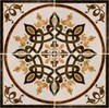 Декор Adonia roseton  45x45 - фото 7607
